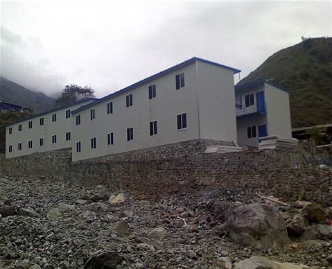 贵州遵义黔锦矿业与我公司双层T式活动yabo1237项目展示