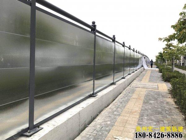 昆明安宁围挡|工地工程彩钢pvc围挡